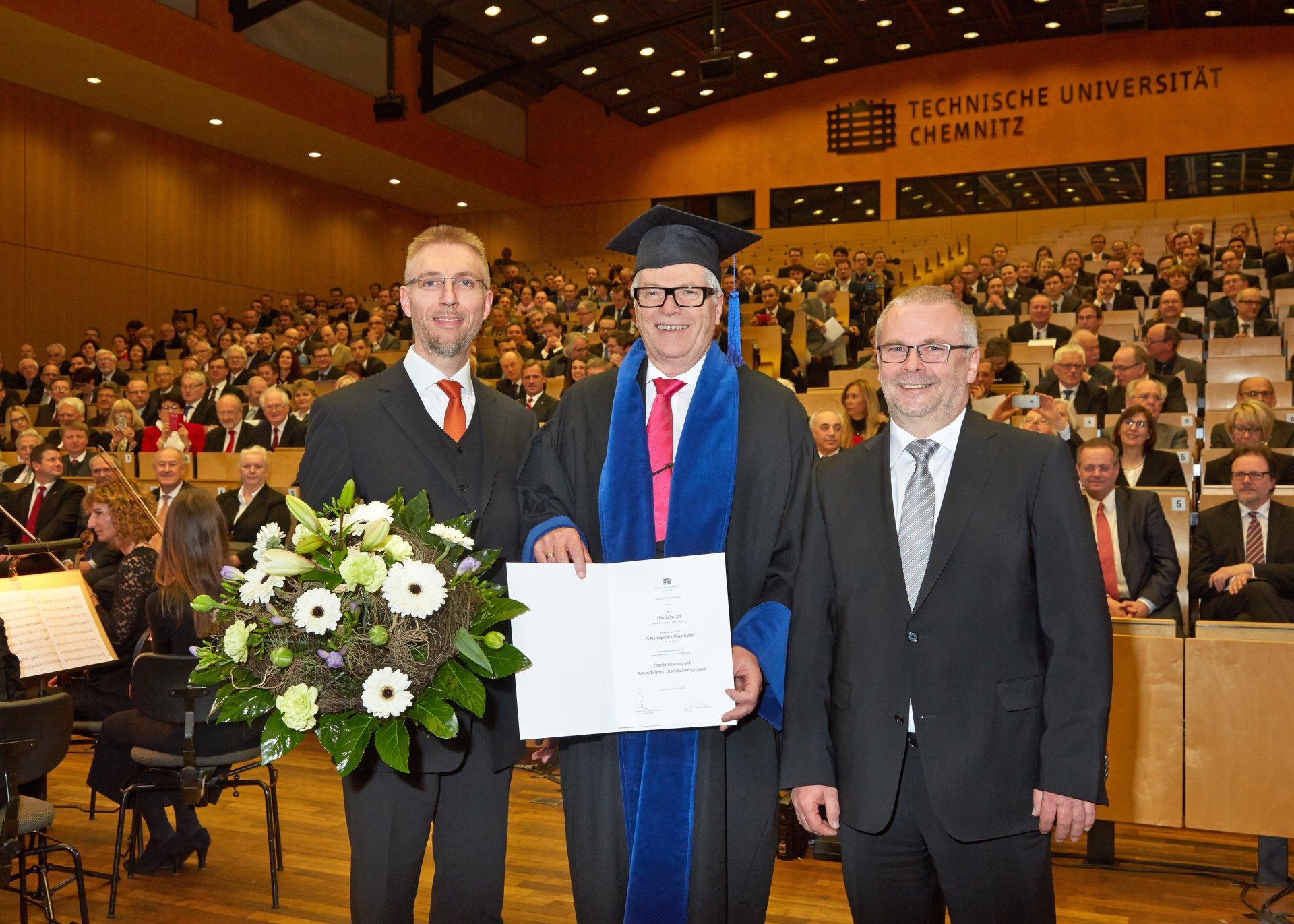 Verleihung der Ehrendoktorwürde an Friedhelm Loh